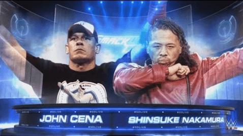 中邑真輔とジョン・シナがシングル初対決へ!海外の反応は?