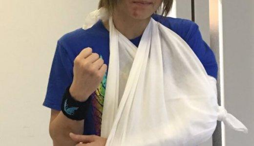 岩谷麻優が左肘を脱臼で欠場へ!2日連続の王座戦で負担があった?